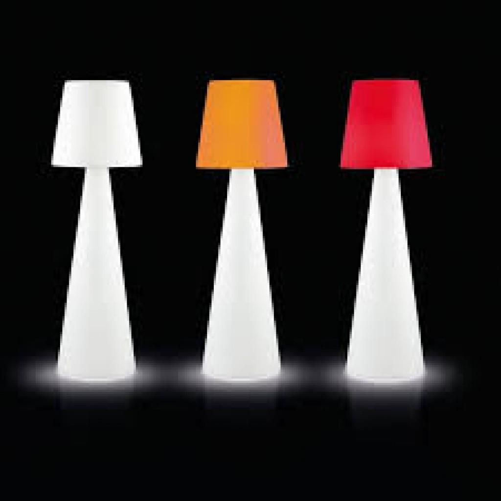 meuble exterieur lumineux